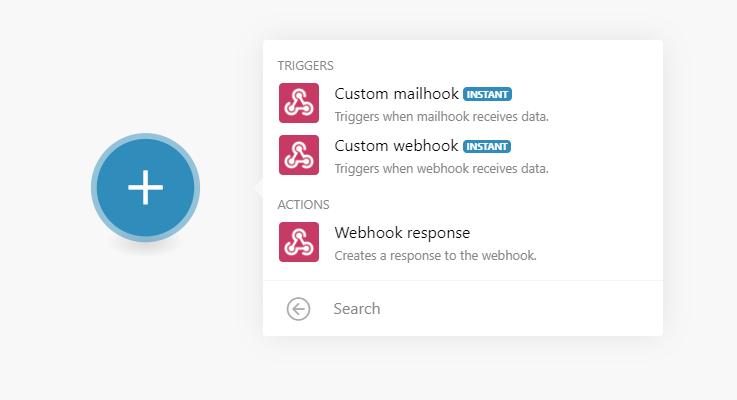 custom webhook