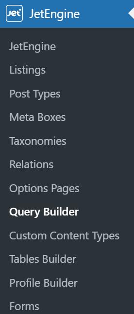 jetengine query builder