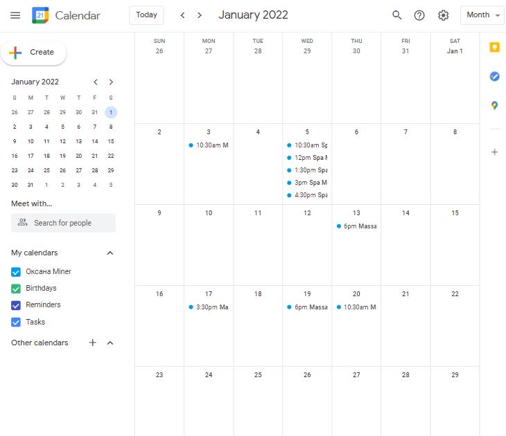 multi booking calendar