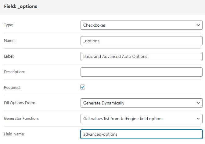 add new post form editing screen