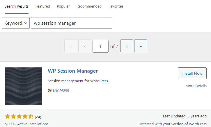 wp session manager