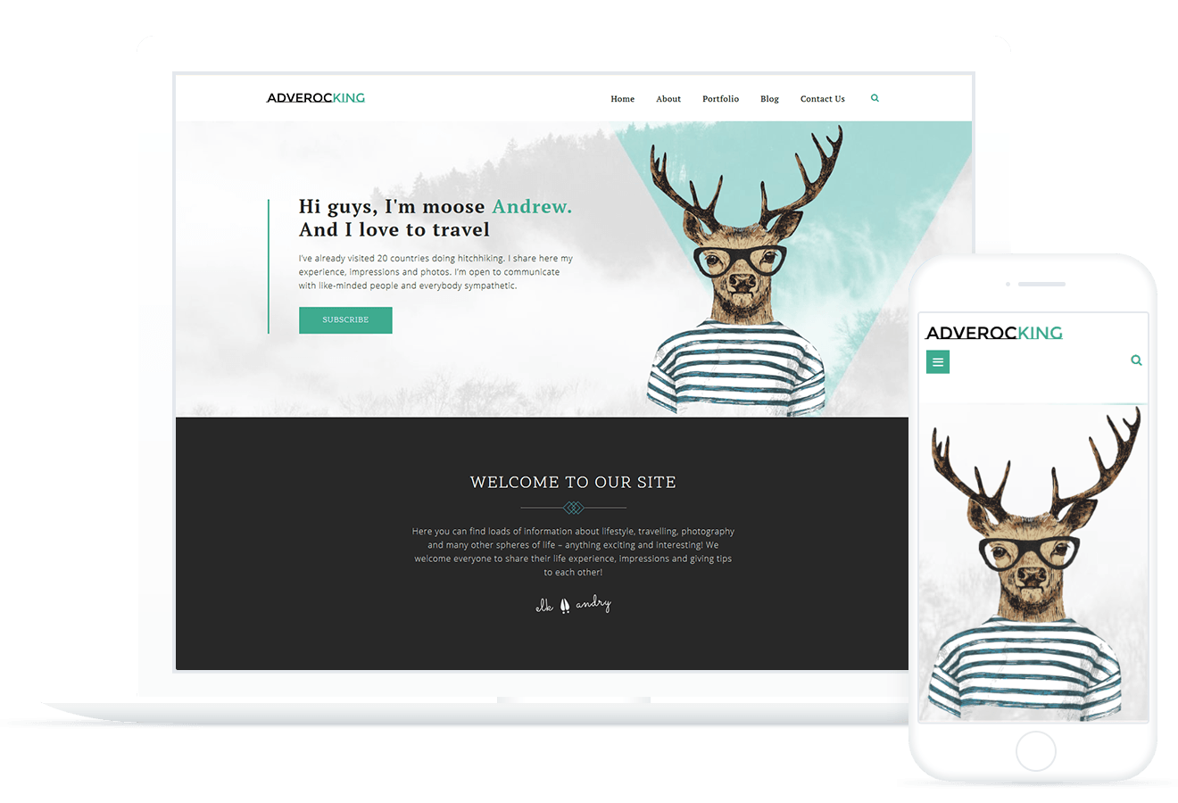 Adverocking — WordPress Theme