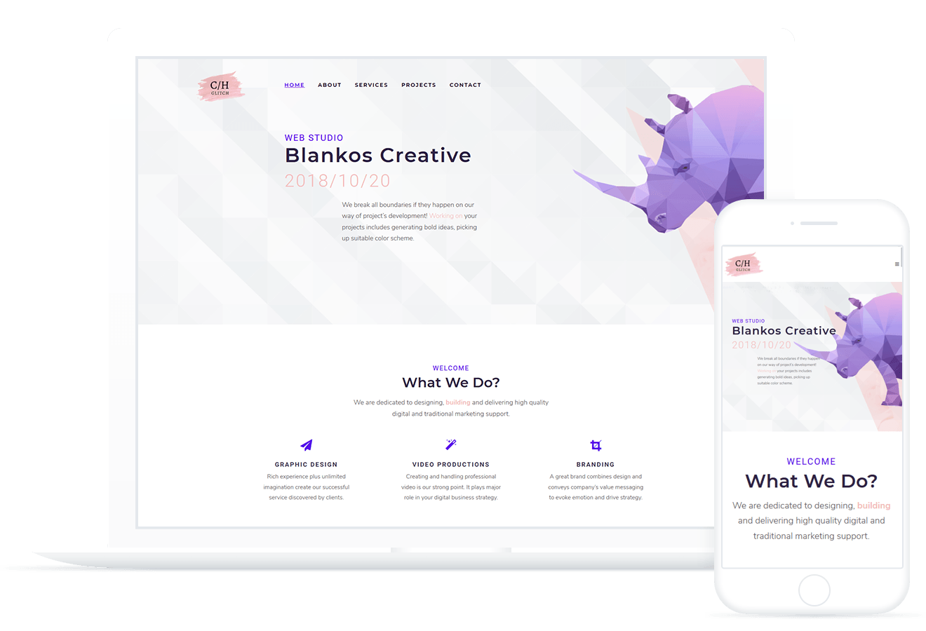 Blankos — WordPress Theme
