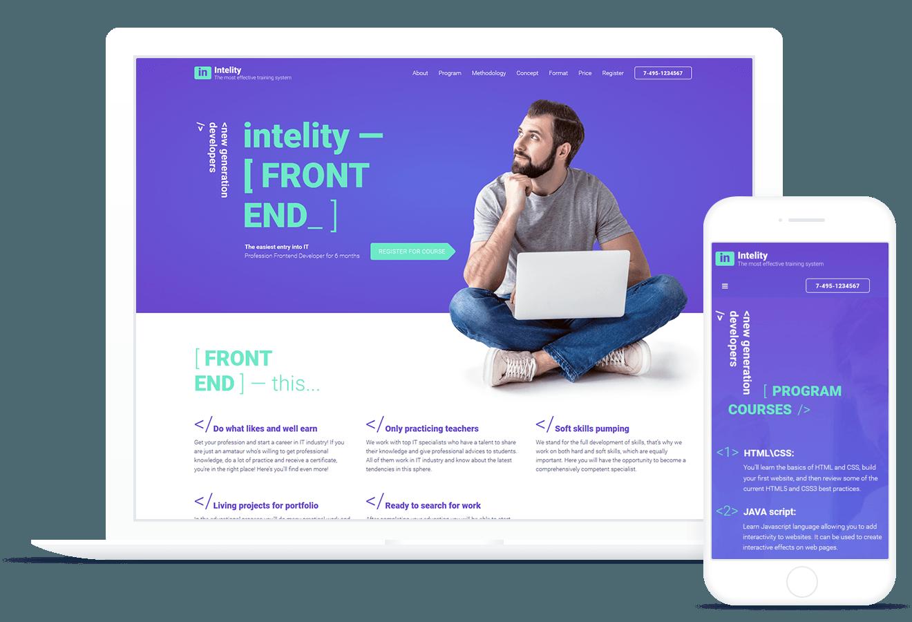 Intelity — IT Courses