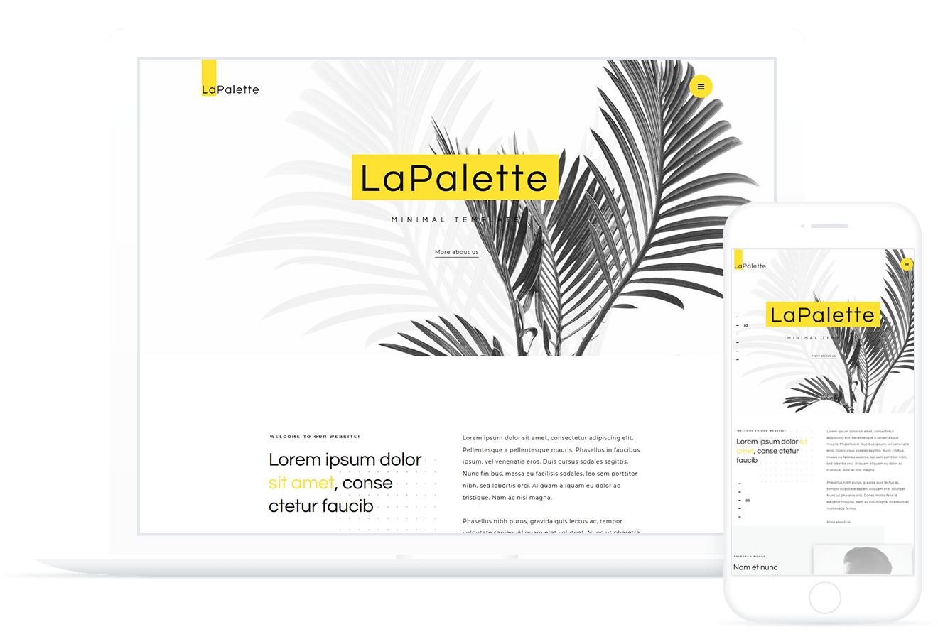 La Palette — WordPress Theme