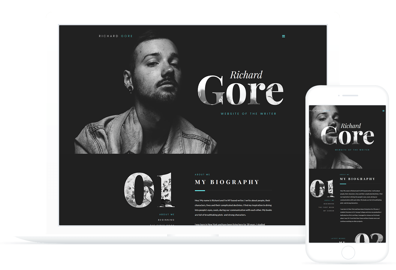 Richard Gore — WordPress Theme