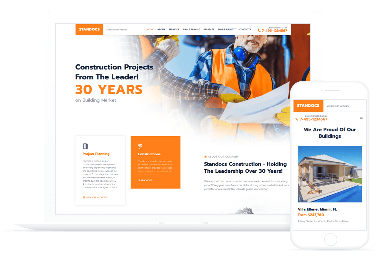 Standocs — Construction Company