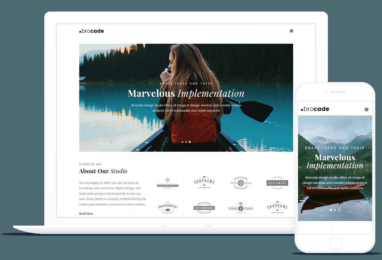 Brocade — Minimal Design Studio