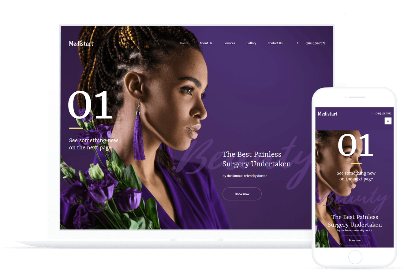 Medistart — Spa Salon Template