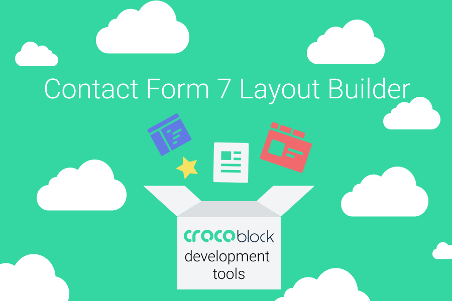 CrocoBlock Dev Tools. How to Create Contact Form 7 Responsive Layout with Layout Builder