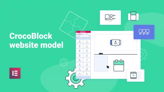 Crocoblock website models: build dynamic websites faster and easier with Elementor