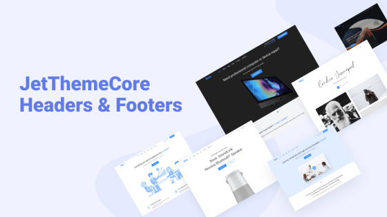 JetThemeCore: setting header and footer templates for any theme
