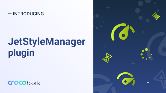 JetStyleManager: insuring your page style settings in Elementor