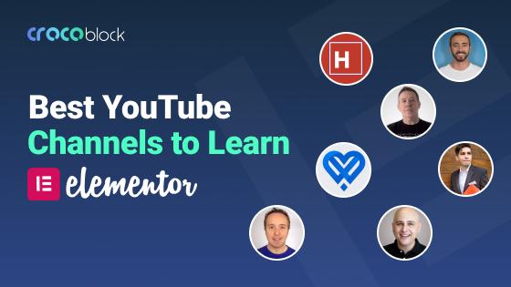 Best YouTube channels to learn Elementor