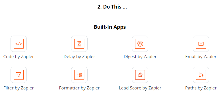 Creating an Email with Zapier