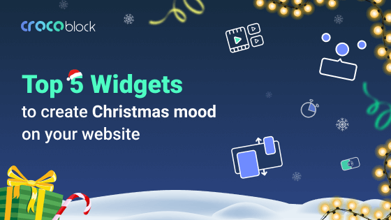 Top 5 Elementor widgets for Christmas