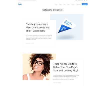 Creative layouts