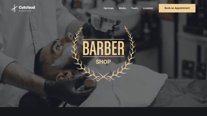Barber template