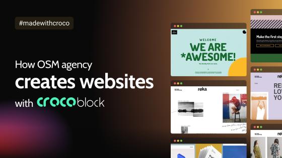 How OSM Agency Creates Websites With Crocoblock