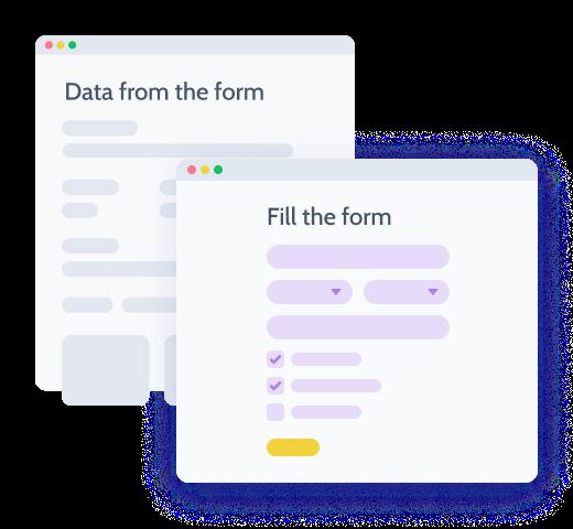 WP REST API form to site data transmitting