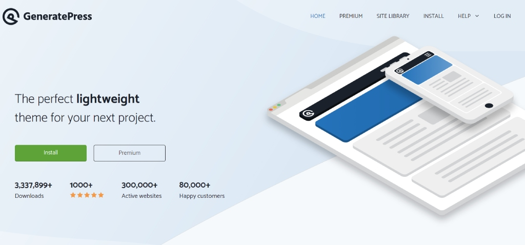 Generate Press WooCommerce Theme for Elementor