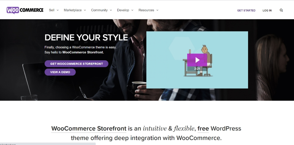 Storefront Theme for WooCommerce