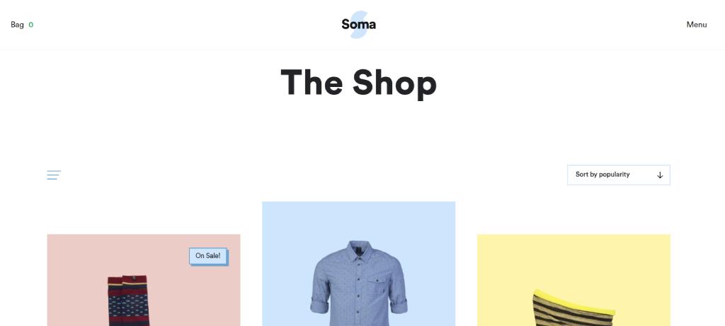 Soma WooCommerce Theme