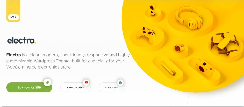 Mobile WooCommerce Theme Electro