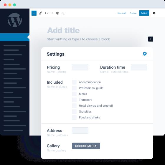 custom post types & meta fields in JetEngine