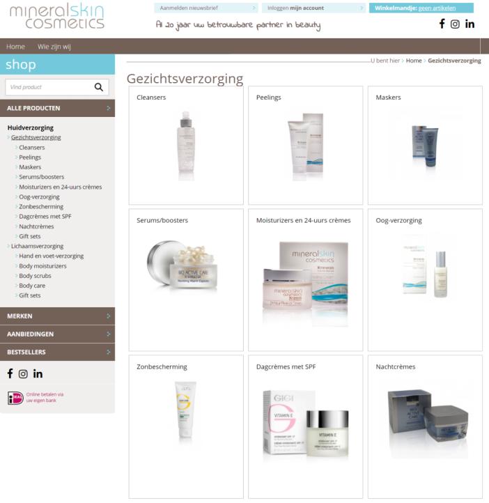 old mineral skin website